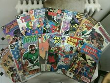 Huge DC Comics 1st issues lot! The Justice League, Green Lantern,Starman/80s,90s