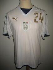 Italy Italia MATCHWORN away football shirt soccer jersey maillot maglia size L
