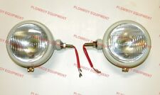 310066F LEFT & RIGHT 12 VOLT HEADLIGHTS LAMP SET FOR FORD 2N 8N 9N 800 600 NAA