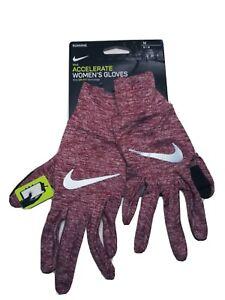 Nike Dri-Fit Women's Running Accelerate Gloves Touch-Screen Size Medium