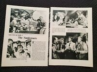 The Sundowners - Vintage Hollywood - 1962 Book Print