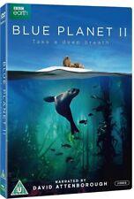 THE BLUE PLANET II (2017): Sir David Attenborough NEW TV Series -  UK DVD not US