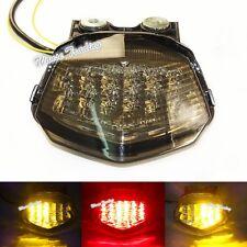Tail Turn Signals Integrated Led Light Smoke For 2008-2012 KAWASAKI Ninja ZX250R