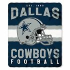 New Northwest NFL Dallas Cowboys Soft Fleece Throw Blanket 50