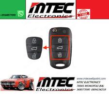 K109 Gommino Chiave Guscio Cover Telecomando Hyundai i20 i30 ix35 i40 ix20 i10