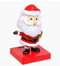 Solar Dancing Toy Cute Santa Claus Solar Powered Dancing Dolls Swinging Animated
