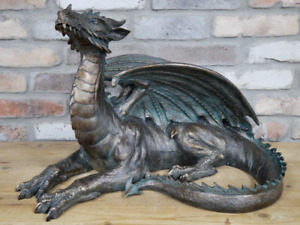 New Large Dragon Ornament High Quality Home Décor Fantasy Theme Resin Sculpture