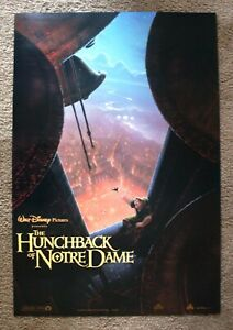 THE HUNCHBACK OF NOTRE DAME (1996) ORIGINAL MOVIE POSTER DOUBLE-SIDED 27X40