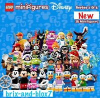 LEGO DISNEY SERIES 1 71012 AND SERIES 2 71024 (NEW) CHOOSE YOUR FIGURE