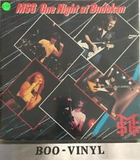 The Michael Schenker Group MSG One Night At Budokan Dbl LP 1981 UK  EX*+