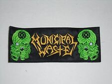 MUNICIPAL WASTE MASSIVE AGRESSIVE EMBROIDERED PATCH