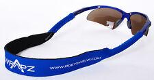 Wrapz Floating Neoprene Sunglasses Strap Head Band 45cm BLUE STRAP