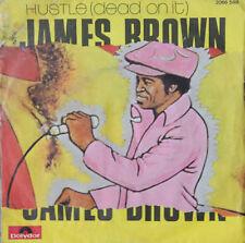 """Vinyle 45T James Brown """"Hustle (dead on it)"""" - TRES RARE"""