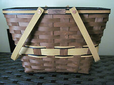 Longaberger 2011 BEE RB Star Performer Sales Achiever Award Tote Basket RARE
