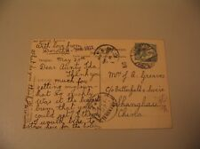 Tsingtau Kiautschou Stamp China Germany Postcard Shanghai Sietas Plambeck cdii