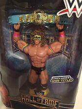 WWE Ultimate Warrior wrestling figure Mattel Elite lot of1 wwf HOF toy Flashback