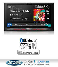 Pioneer AVH-X8700BT car stereo, MP3 DVD Player Bluetooth USB AUX in