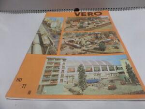 Katalog VERO 1976 DDR selten Piko Auhagen PGH Plauen MAMOS Temos Pappe