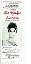 PUBLICITE ADVERTISING 106  1964  Orlane  cosmétiques crèmes Bio