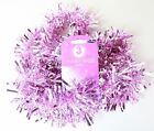 Light Pink And Purple Tinsel Christmas Decoration 3 Metres 4 Ply