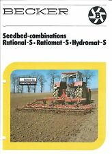 Farm Implement Brochure - Becker - Rational Ratiomat Hydromat S  (F4849)