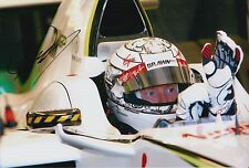 Mike Conway Hand Signed Brawn F1 12x8 Photo 4.