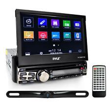 "Pyle PLT85BTCM 7"" Single Din Tochscreen Bluetooth Headunit Receiver & Backup Kit"