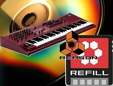 Waldorf Q Plus Q+ refill cd sample house,trance,tecno for Reason,Halion,Kontakt