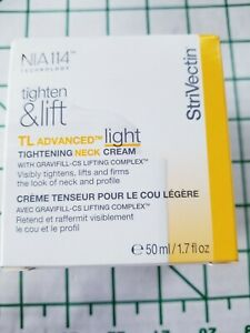 STRIVECTIN TL Advanced LIGHT TIGHTENING NECK CREAM 1.7oz Gravifill CS AUTHENTIC