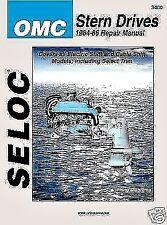 OMC STERN DRIVE REPAIR SERVICE MANUAL 1964 -1986 SELOC 3400