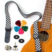Ukulele Strap Picks locks For Soprano Concert Tenor Bass Baritone Ukelele Uke
