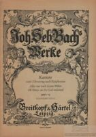 Alles nur nach Gottes Willen. Kantate zum 3. Sonntag nach Epiphanias. BWV 72