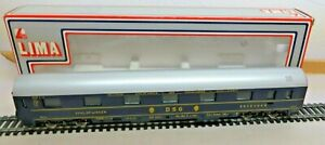 LIMA H0 309206 Sleeper Car From DSG 33235 Blue Sauber Boxed