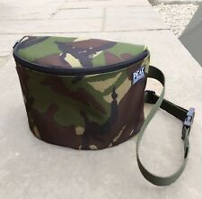 Peak angling products deluxe boilie caddy / bag bait pouch camo carp fishing