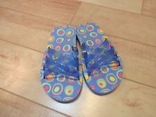 Girl Fresh Produce Blue Sandals Youth Size 1 2 NWOT