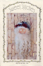 """Uncut Sweet Stitches Sewing Dollmaking Pattern # 163 """"Nick on the Tree"""""""