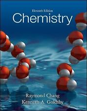 Chemistry by Kenneth Goldsby and Raymond Chang (2012, Hardcover, 11th Edition)