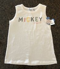 New With Tags Disney Junk Food Mickey Mouse Women'S Junior Xl Top Tee Tank