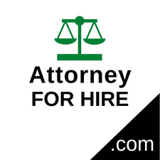 AttorneyForHire.com - Premium Domain Name - Attorney, Lawyer, Legal, Law