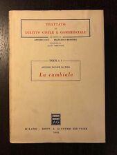 LA CAMBIALE - Antonio Pavone La Rosa - Giuffrè - 1982