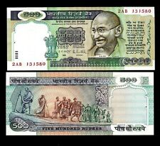 Rs 500/- India Banknote Signed By R. N. MALHOTRA GEM UNC