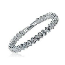 Maxima Rome Pave Bracelet Bridal Jewellery CZ Cubic Zirconia - CRYSTALA