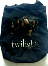 """Twilight Tote Bag With Inner Zipper Pocket Official Movie Cullen Crest 16X14"""""""