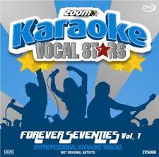 Zoom Karaoke Vocal Stars Series Volume 6 CD+G - Forever Seventies