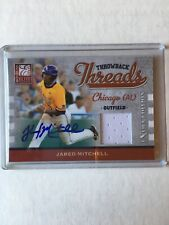 2009 Elite Extra Edition Jared Mitchell Throwback Threads Auto/149