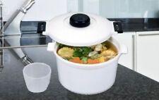 OLLA A PRESION PARA MICROONDAS 2.85 litros cocina rapida sano verduras carnes