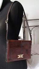 genuine Fantastic Vintage Mappin and webb Reptile Lizard snake leather handbag