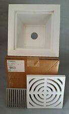 Ips Ab&A 60949 Aba8591 Pvc Floor Sink with Full Grate and Bottom Strainer New