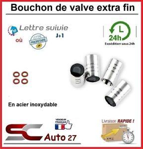 Bouchon de valve en acier inoxydable extra fin convient BMW M3 et joint