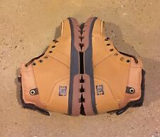 DC Woodland Boots Men's Size 6.5 US Wheat (WE9) Moc Toe Boots BMX MOTO